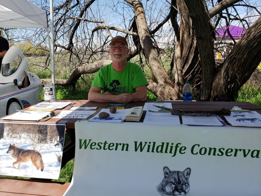 Bob tabling at Ogden Nature Center Earth Day 4.20.19 (1).2